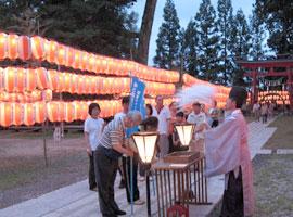 夏越の大祓式(毎年6月30日)