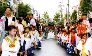 例祭奉祝祭 稚児行列